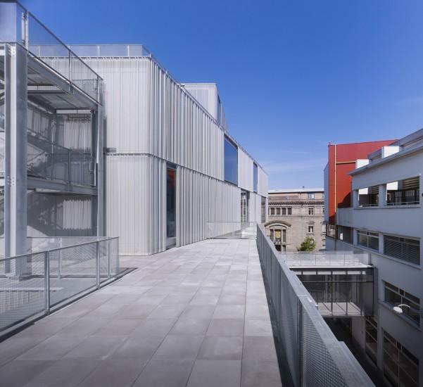 Cole nationale sup rieure d 39 architecture marc mimram for Ecole d architecture
